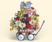 Its a BOY or Its a GIRL Wagon from Teleflora